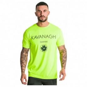 Gianni Kavanagh Neon Yellow Hybrid Logo Tee