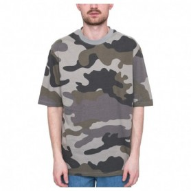 Revolution Cotton Tee With All Over Camo Print