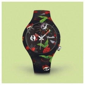 Doodle Hearts And Roses Doodle Watch