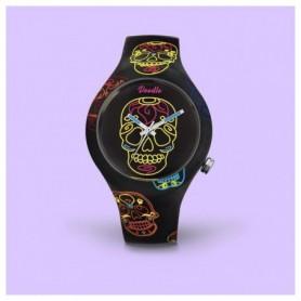 Doodle Black Skulls Doodle Watch