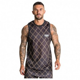 Gianni Kavanagh Black Gold Chain Vest