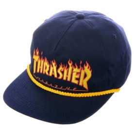 Thrasher Thrasher Flame Rope Snapback