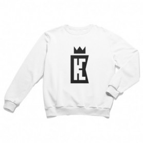 King Coast Kc Sweatshirt White-Black
