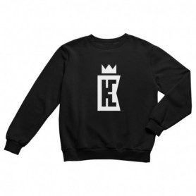 King Coast Kc Sweatshirt Black-White