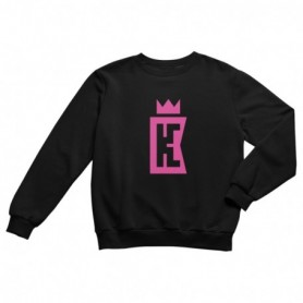 King Coast Kc Sweatshirt Black-Pink