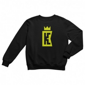 King Coast Kc Sweatshirt Black-Yellow