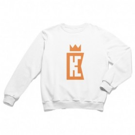King Coast Kc Sweatshirt White-Orange