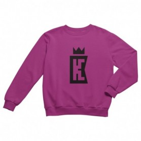 King Coast Kc Sweatshirt Pink-Black