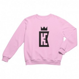 King Coast Kc Sweatshirt Light Pink-Black
