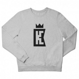 King Coast Kc Sweatshirt Grey-Black