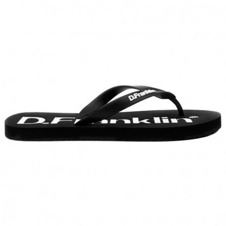 D.Franklin Flip Flop Black